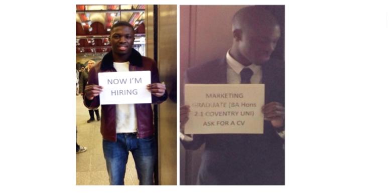 Llamar la atención para encontrar trabajo