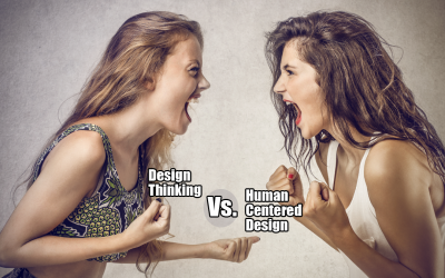 Diferencias entre Design thinking y Human centered design