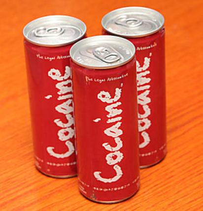 producto con cocaina, una mala idea