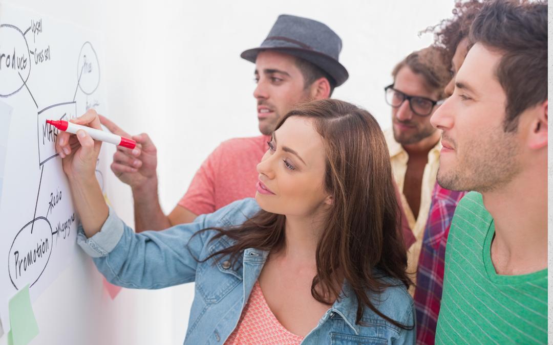 Cómo tener una reunión de brainstorming súper efectiva