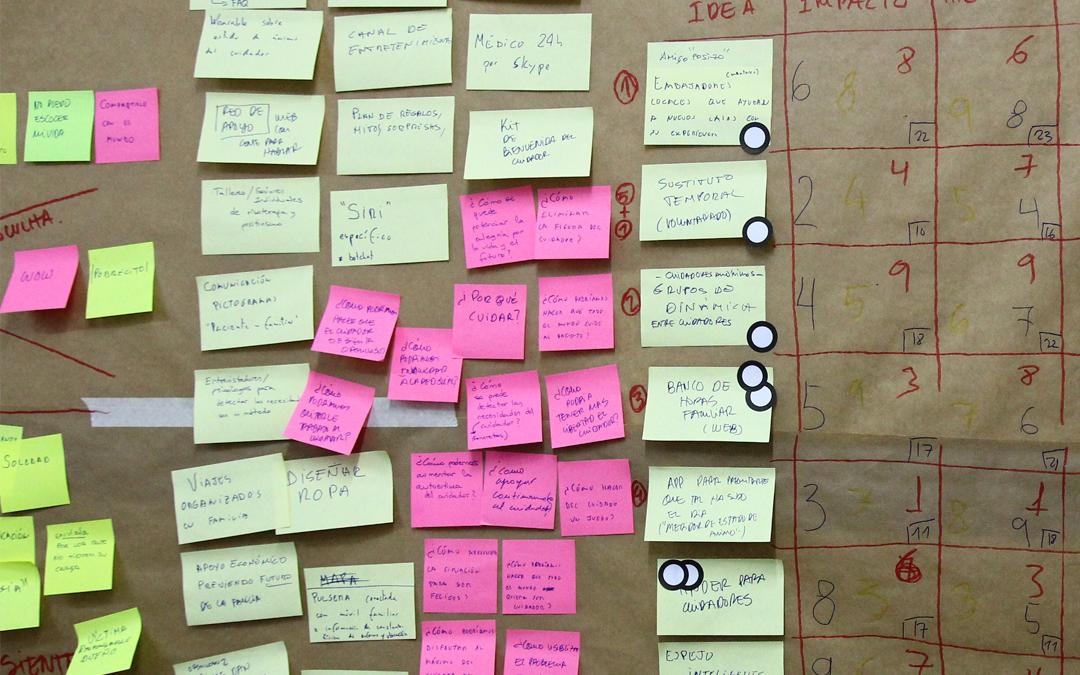 Thinkernautas Brain Session: Ideas para mejorar la vida de cuidadores de personas con demencia