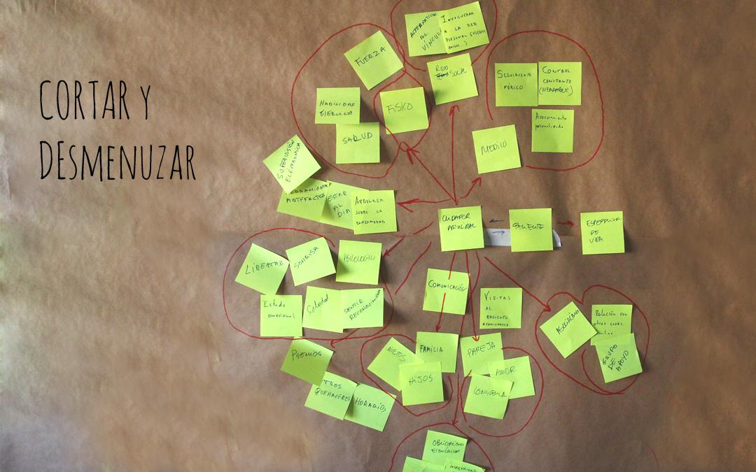 tecnica cortar y desmenuzar design thinking