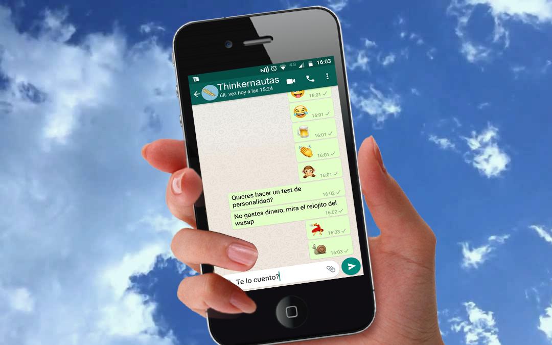 El whatsapp almacena información confidencial sobre tu personalidad