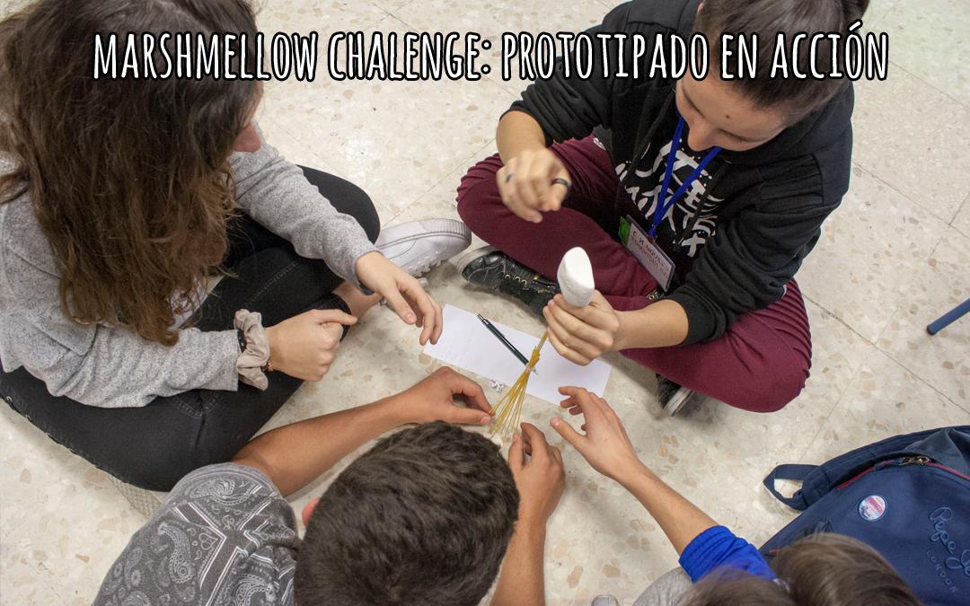 marshmellow challenge, prototipado